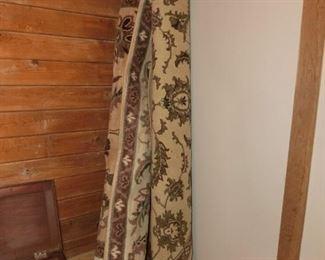 4 very nice  room size rugs (well kept)- machine made