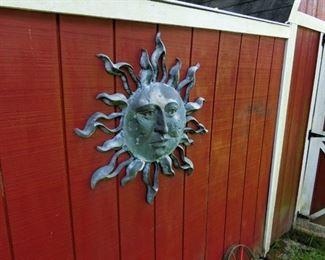 Decorative Sun Wall Hanging
