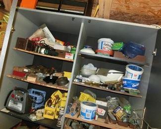 Interior Shot of Tool Cabinet
