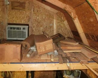 Attic of Tool Shed