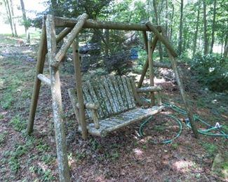 An outdoor Swing,