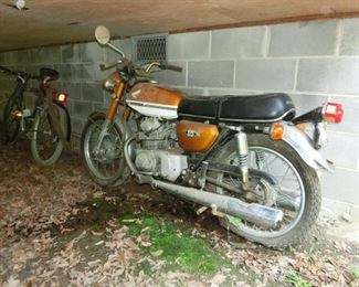 1971 Honda  CB175 - Eligible for Antique tag.
