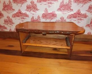 Small Plank-top Bench