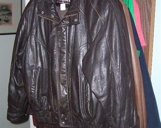 LEATHER COATS AND OTHER JACKETS