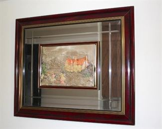 Mirror Framed Art