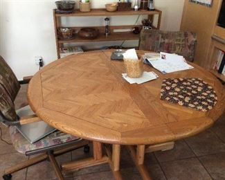 Oak dinette table