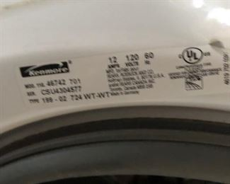 Kenmore washer $350 OBO will sell before sale