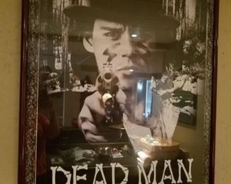Dead Man movie poster Johnny Depp