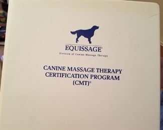 Canine Massage Therapy Instructions