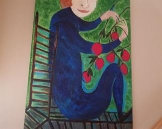 Folk art original painting