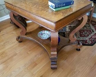 Library Oak Table