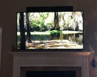 "65"" Samsung Smart 4k TV, wireless surround sound"