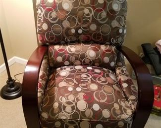 Great upholstered modern style chair