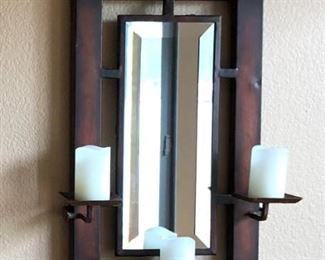 Candle Mirror Sconce (pair)