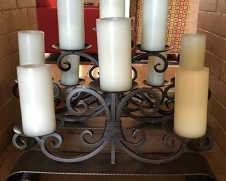 Iron Candle Holders