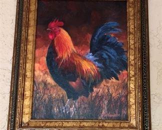 Art Rooster by J Schroeder