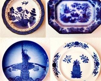 Flow Blue porcelain