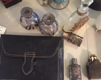 Perfume Bottle collection - Sterling