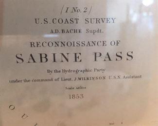 On Original Survey Document, 1853 Sold for $1700 asking $1000