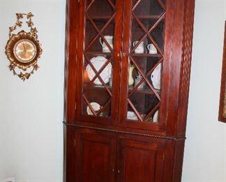 #5 - Antique Corner Cabinet