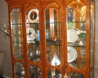 Large lighted display case.  Items in the case may not be available for sale.  An updated photo will be posted next week.