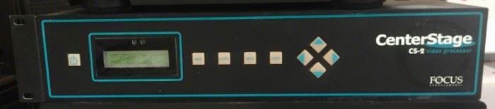 Center Stage CS-2 Video Processor