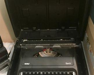 Royal Epoch Typewriter