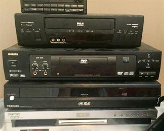 VHS/DVD Equipment
