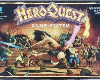 Hero Quest Game