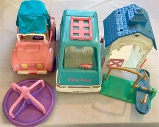 Fisher Price Loving Family Dollhouse Toys