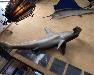 Replica Taxidermy Hammerhead Shark $400 obo