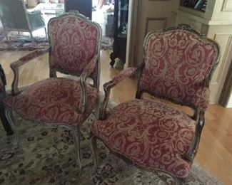 Bergere Chairs also matching desk chair