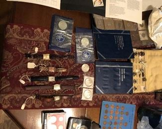 Coins and watches