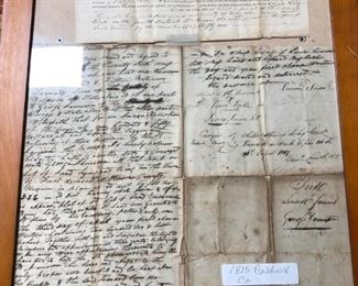 1800's Georgia Land Deeds
