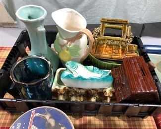 Ceramic & Carnival Glass Lot