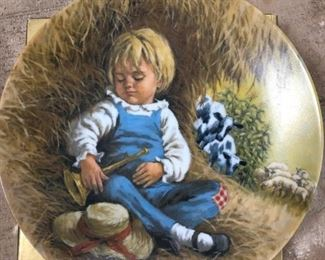 "Limited Edition ""Little Boy Blue"" plate by John McClelland #16866I"
