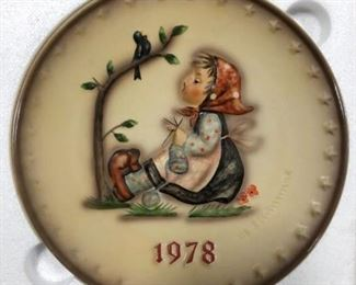 1978 Hummel 8th Annual Plate