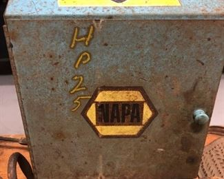 Napa Tire Valve Metal Display Box