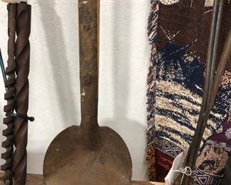Primitive 7 foot Mud Spoon