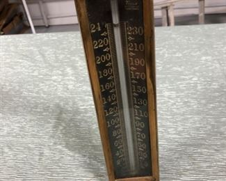 Antique Taylor Instrument Company Gauge