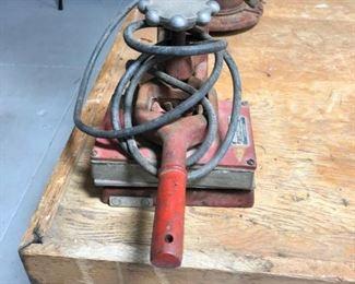 Antique Tube Repair Machine
