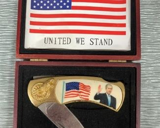George Bush Collector Knife