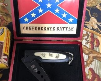 Confederate Battle Collector Knife