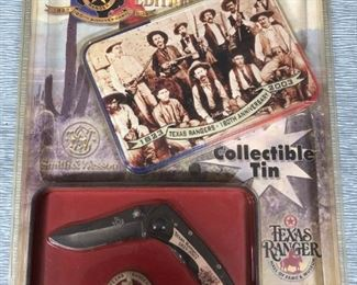 Texas Ranger Collector Knife