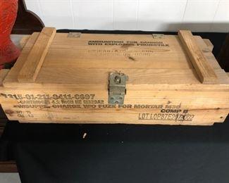 Vintage Missle Box