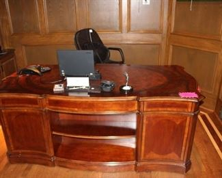 solid wood desk amazing piece $550 If you want to buy furniture prior to sale call 630-701-0161 for more information and to set up an appointment