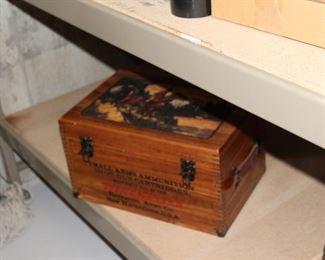 show shine box with supplies
