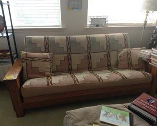 Amish made sofafuton