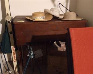 antique organ cabinet