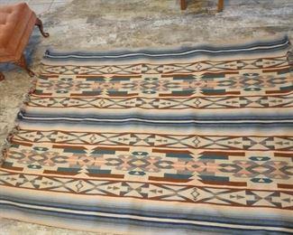 large wool rug or blanket